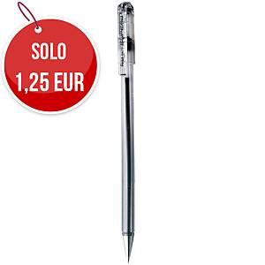 Penna a sfera con cappuccio Pentel Superb punta 0,7 mm nero