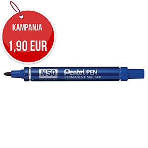 Pentel N50 huopakynä pyöreä 1-2 mm, permanent, sininen