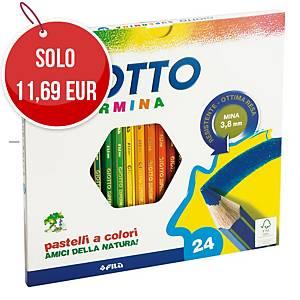 Pastelli colorati Giotto Supermina - conf. 24