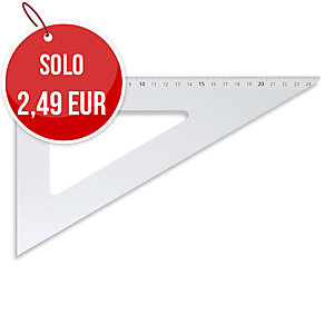SQUADRA 60° MAPED CON DIAGONALE 36 CM