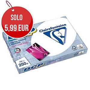 Carta bianca professionale DCP per stampe a colori A4 250 g/mq- risma 125 fogli