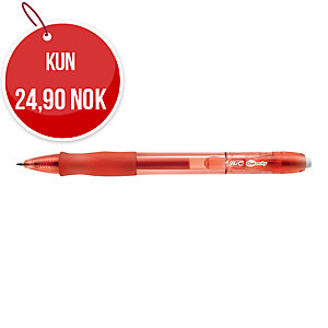 Gelpenn BIC Gelocity, medium, 0,7 mm, rød