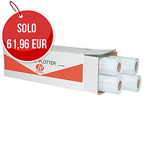 ROTOLI CARTA PLOTTER OPACA JP ONE AS MARRI 80 G/MQ - CONF. 4