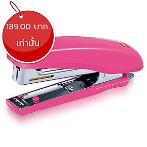 MAX เครื่องเย็บกระดาษรุ่นHD-10Dสีชมพู