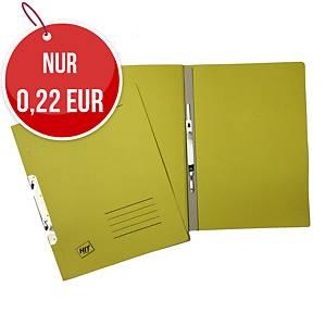 HIT Office Classic 1/1 Hängehefter A4 gelb 240g