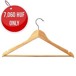 Wooden Coat Hangers - Pack Of 25