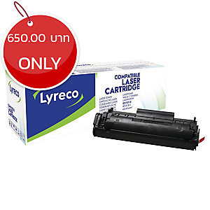 LYRECO COMPATIBLE 12A HP Q2612A LASER CARTRIDGE - BLACK