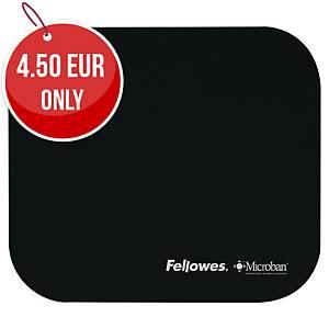 FELLOWES 5933901 MICROBAN MOUSE MAT BLACK
