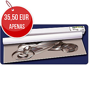 Pack de 4 rolos de plotter tinta de 80g/m2 SPRINJET Plus. Largo: 610 mm x 45 m