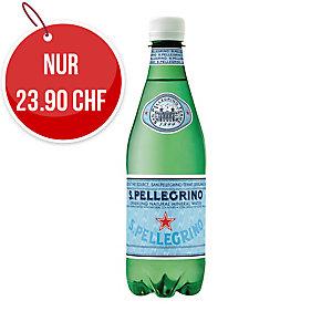 San Pellegrino Mineralwasser mit Kohlensäure 50 cl, Packung à 24 Flaschen