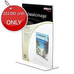 DEFLECT-O 47801-TL Sign Holder T-Shape Vertical A4