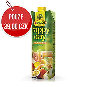 Džus Happy Day Multivitamín 100%, 1 l