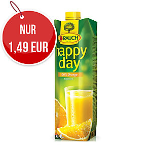 Happy Day Orange Fruchtsaft 100% 1 l