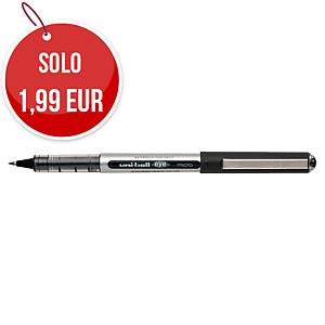 Penna roller con cappuccio uni-ball Eye punta 0,5 mm nero
