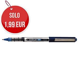 Penna roller con cappuccio uni-ball Eye punta 0,5 mm blu