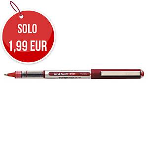 Penna roller con cappuccio uni-ball Eye punta 0,5 mm rosso