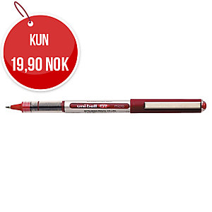 Kulepenn Uni-ball Eye UB-150, 0,3 mm, rød