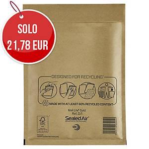 Buste a sacco imbottite Mail Lite® gold 18 x 26 cm avana - conf. 100