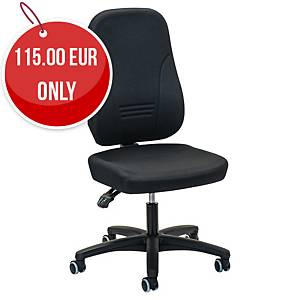 Office chair Prosedia Younico 1451, high 3D backrest, 3 hour chair, black