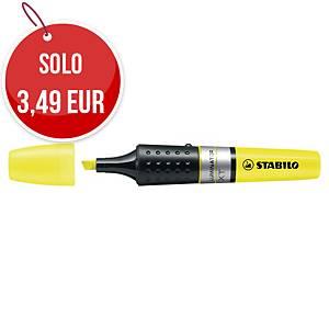 Evidenziatore inchiostro liquido Stabilo Boss Luminator giallo