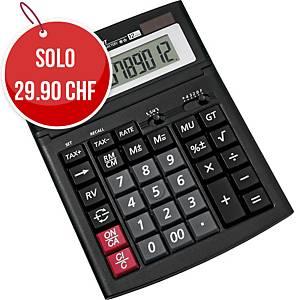 Calcolatrice da tavolo Canon WS-1210T, 12 cifre, nero