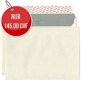 Couvert Elco Documento 48798, B4, o.Fenster, 120 gm2, beige, Pk. à 200 Stk.