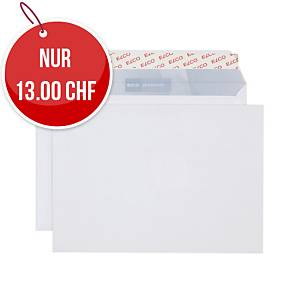 Couvert Elco Office, C5, ohne Fenster, 100 gm2, weiss, Packung à 100 Stk.