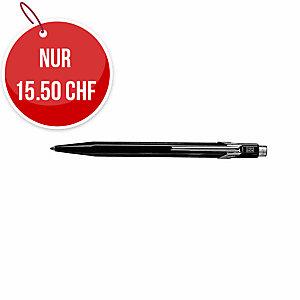 Kugelschreiber Caran d Ache 849, Strichbreite M, schwarz schreibend, schwarz