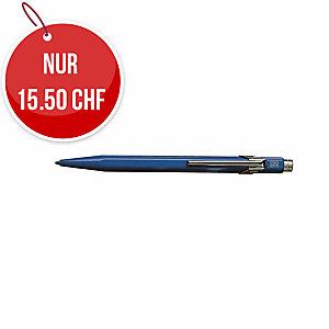 Kugelschreiber Caran d Ache 849, Strichbreite M, blau schreibend, blau