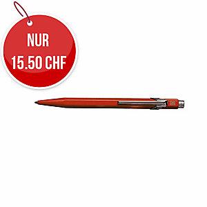Kugelschreiber Caran d Ache 849, Strichbreite M, rot schreibend, rot