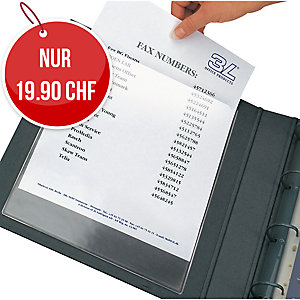 Einstecktasche 3L Pockets A5, 158x218 mm, Beutel à 10 Stück
