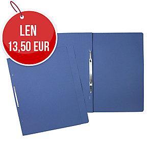 Nezávesné 1/1 rýchloviazače classic HIT A4 modré 240g, balenie 100 kusov