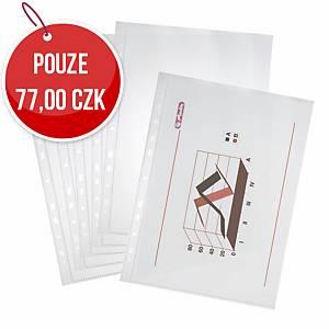 Euroobal lesklý Herlitz 45 mikronů - A4, 100 ks