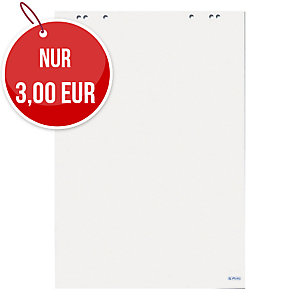 Flipchartblock Herlitz 10834133, blanko, 20 Blatt
