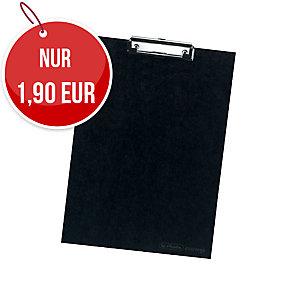Herlitz Schreibunterlage schwarz A4