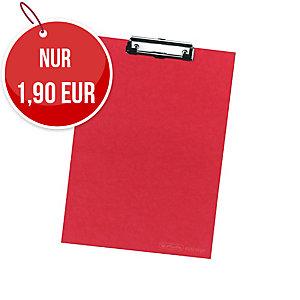 Herlitz Schreibunterlage rot A4