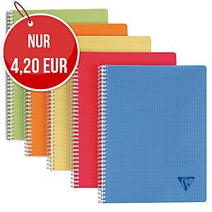 Geschäftsbuch Brause 328126, A4, kariert, 90 Blatt