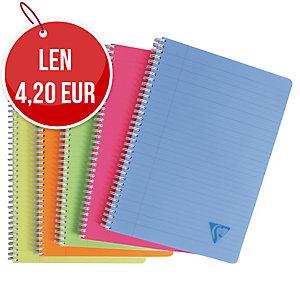 Zápisník Clairefontaine Linicolor A4, linajkový, 90 listov