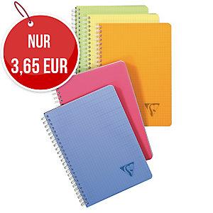 Geschäftsbuch Brause 328506, A5, kariert, 90 Blatt