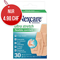Nexcare Comfort 360° Heftpflaster, assortiert Packung à 30 Stück