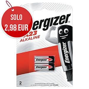 Batterie alcaline Energizer specialistiche LRV08/A23 12V - conf. da 2