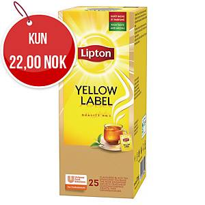 Te Lipton Yellow Label, pakke à 25 poser