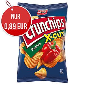 Lorenz Crunchips X-Cut Kartoffelchips Paprika 85 g