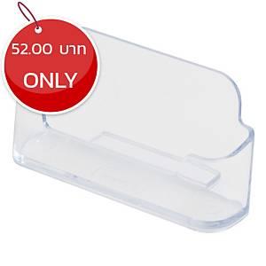 DEFLECT-O 70101-TL Business Card Holder Horizontal