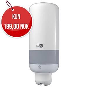 Dispenser Tork S1 til såpesystem, 1 liter, hvit