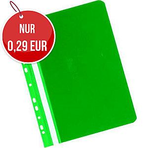 Herlitz Schnellhefter mit Lochrand A4 grün