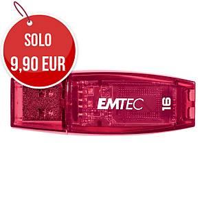 Memoria USB Emtec Color Mix C410 16 GB fucsia