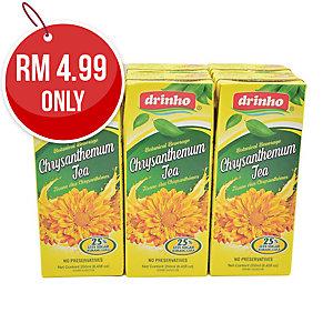 PACK OF 6 DRINHO CHRYSANTHEMUM TEA 250ML