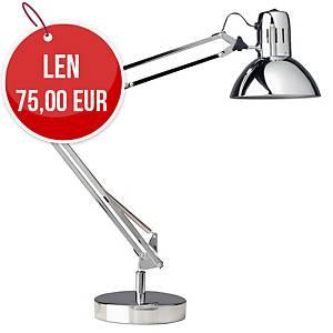 Chrómovaná led stolová lampa Unilux