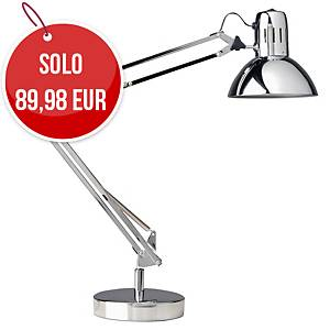 Lampada da tavolo led Unilux Success cromato